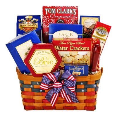 Alder Creek Patriot Treats Gift Basket