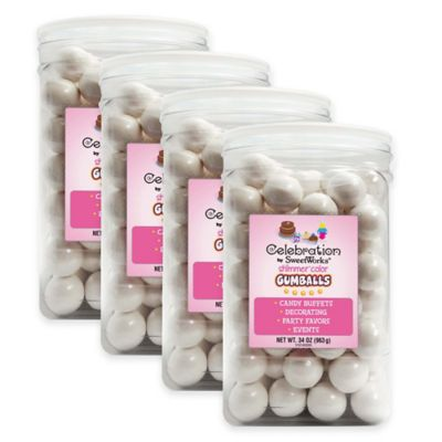 SweetWorks Party Jars in White Consumables