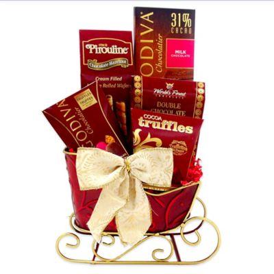 Grand Godiva® Sleigh Holiday Gift Set