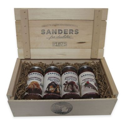 Sanders Topping Gift Crate