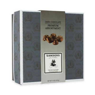 Sanders Boulevard Collection 14 oz. Premium Dark Chocolate Assortment