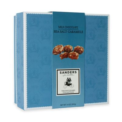 Sanders Boulevard Collection 14 oz. Milk Chocolate Sea Salt Caramels