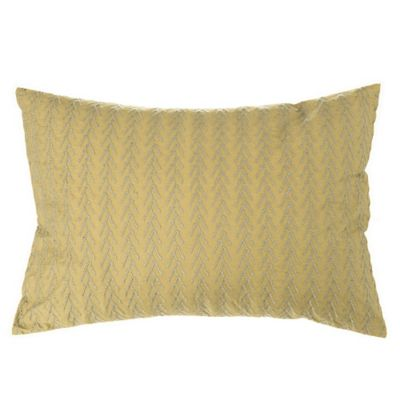 Beekman 1802 Fulton Embroidered Oblong Throw Pillow in Olive
