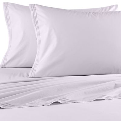 Beekman 1802 Bellvale King Flat Sheet in Oyster