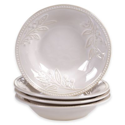 Bianca 4-Piece Bowl Set in Ivory