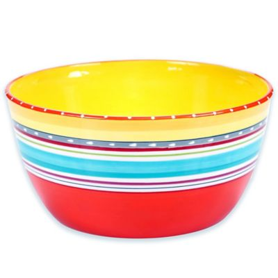 Mariachi Deep Serving Bowl in Multi