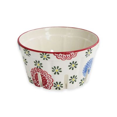 Floral Berry Basket Food Storage Containers