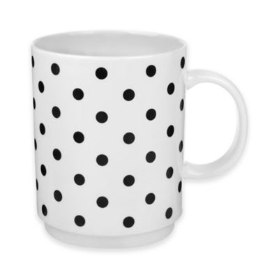 Polka Dot Everyday Stacking Mug