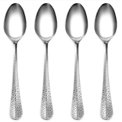 Cambridge® Silversmiths Indira Jessamine Antique Silver Dinner Spoons (Set of 4)