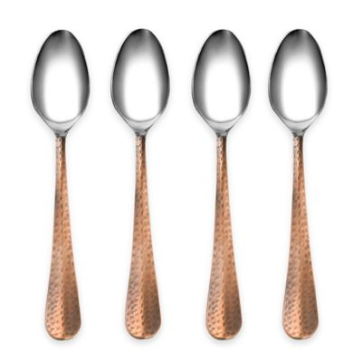 Cambridge® Silversmiths Indira Jessamine Copper Teaspoons (Set of 4)
