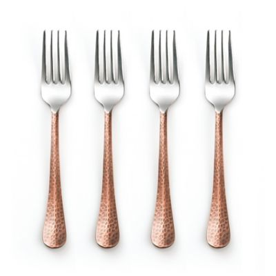 Cambridge® Silversmiths Indira Jessamine Copper Salad Forks (Set of 4)
