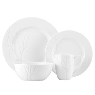Lenox® Park City™ Carved 4-Piece Place Setting