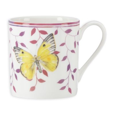 "Lenox® Butterfly Meadow® Everyday Celebrations ""Be Grateful Today"" Mug"