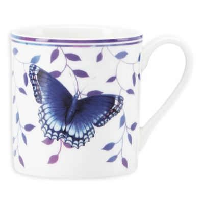 "Lenox® Butterfly Meadow® Everyday Celebrations ""Enjoy Simple Things"" Mug"