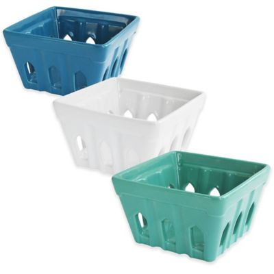 Green Baskets for Storage