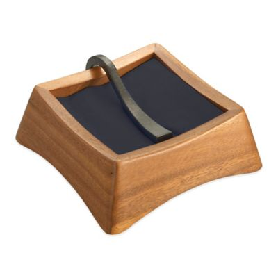Nambe Anvil Napkin Holder