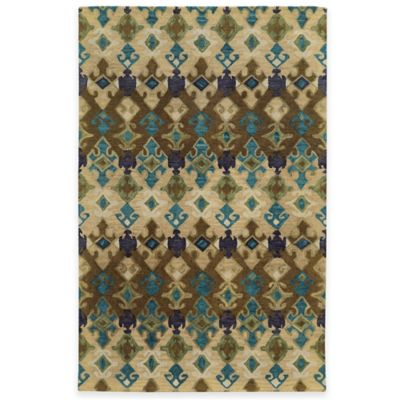 Tommy Bahama® Jamison Geometric 2-Foot 6-Inch x 8-Foot Runner in Brown