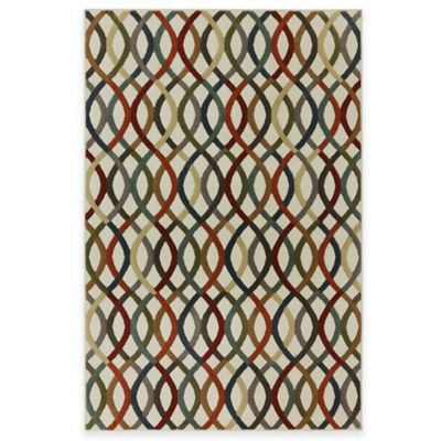 Mohawk Knottingham 2-Foot 6-Inch x 3-Foot 10-Inch Rug in Birch/Multicolor