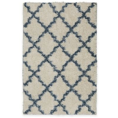 Mohawk Vale 2-Foot 6-Inch x 3-Foot 10-Inch Rug in Birch/Blue