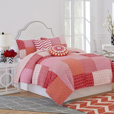 Jill Rosenwald® Multi-Patch Reversible Twin Quilt