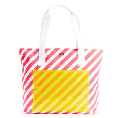 BAN.DO Super Chill Cooler Bag in Ticket Stripe
