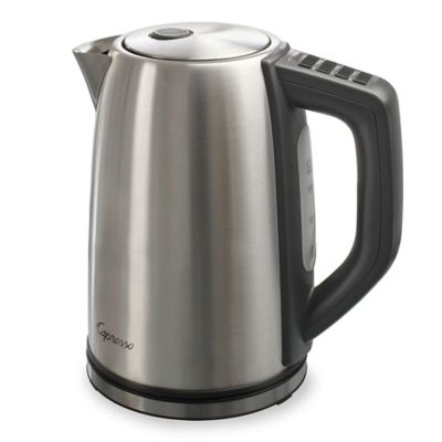 Capresso® H2O Steel PLUS Electric Water Kettle