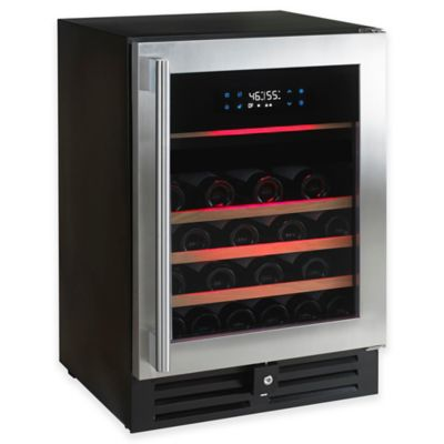 Wine Enthusiast N'FINITY PRO HDX 46-Bottle Dual-Zone Wine Cooler