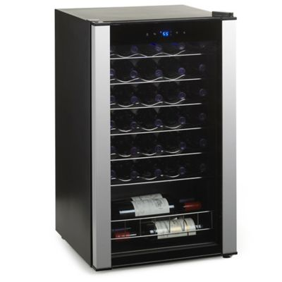 Wine Enthusiast Evolution Series 34-Bottle Wine Refrigerator