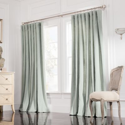 Valeron Estate 108-Inch Rod Pocket Insulated Double-Wide Window Curtain Panel in Spruce