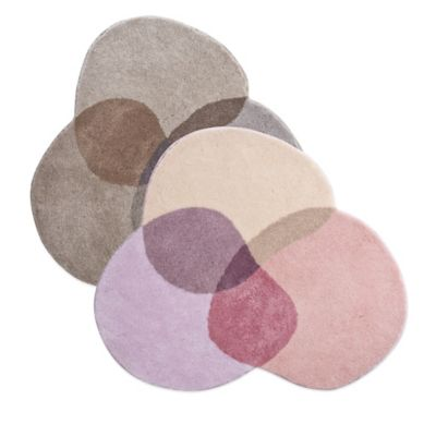 Grund® Shambala 4-Foot Round Bath Rug in Brown