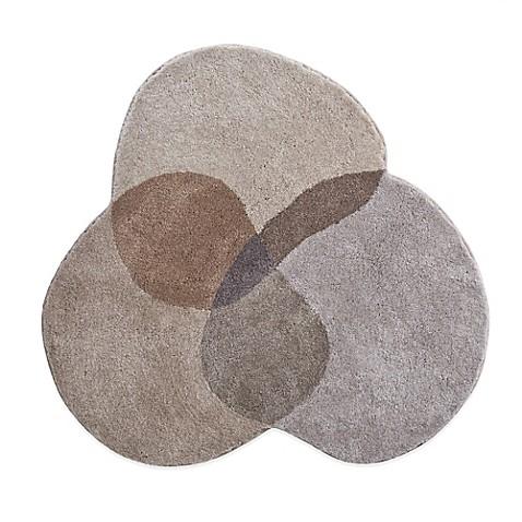 Grundr shambala 4 foot round bath rug bedbathandbeyondcom for Round bath rugs