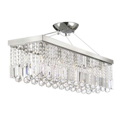 Gallery Modern Crystal Raindrop Chandelier