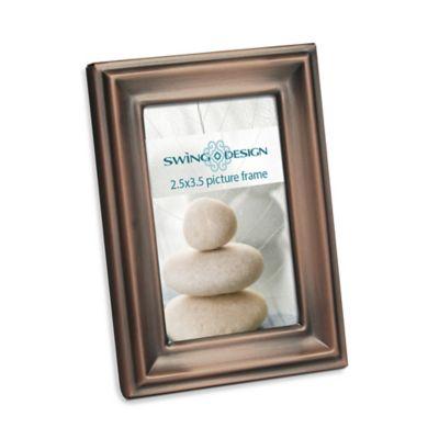 Swing Design™ Providence 2.5-Inch x 3.5-Inch Metal Frame in Bronze
