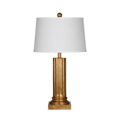 Bassett Mirror Company Haines Floor Lamp in Bronze