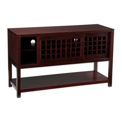 Southern Enterprises Narita Media Console in Espresso
