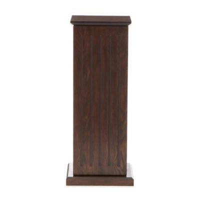 Southern Enterprises Media Storage Pedestal in Espresso