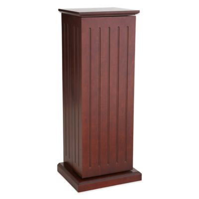 Southern Enterprises Media Storage Pedestal in Classic Espresso