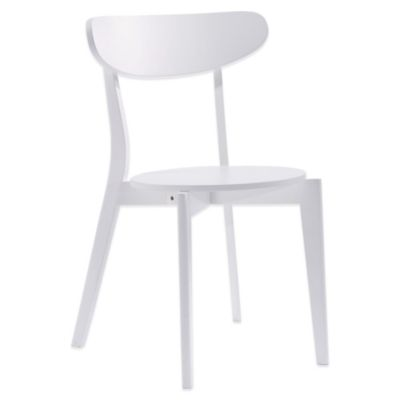 American Atelier Ballon II Dining Chair in White