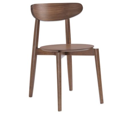 American Atelier Finley Dining Chair in Walnut