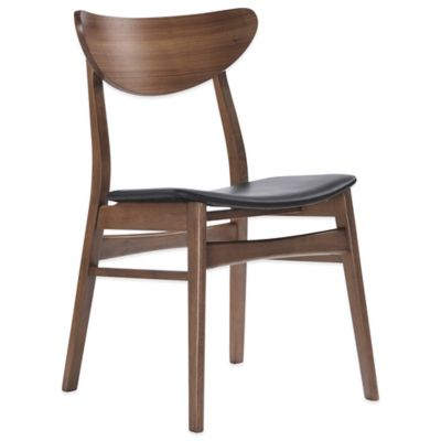 American Atelier Romano Dining Chair in Walnut