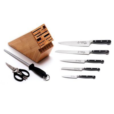 Messermeister Meridian Elité 8-Piece Knife Block Set