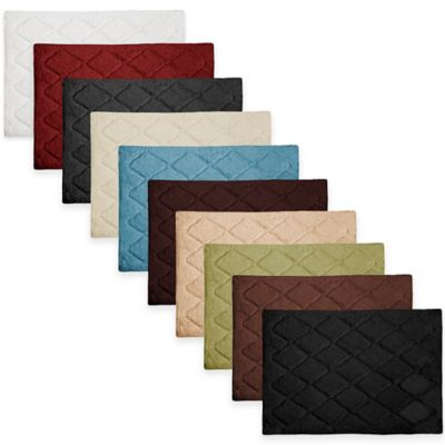 Cotton Black Bath Rugs