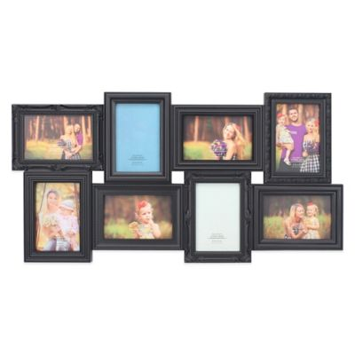 Black Multi Photo Frames