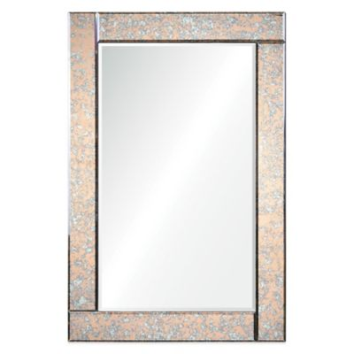 Ren-Wil Atlantis 36-Inch x 24-Inch Rectangular Mirror in Copper