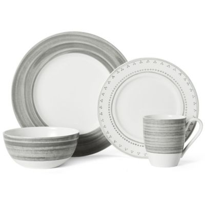 Mikasa® Cadence 4-Piece Place Setting in Stone
