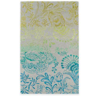Kaleen Divine Floral 8-Foot x 11-Foot Area Rug in Breeze