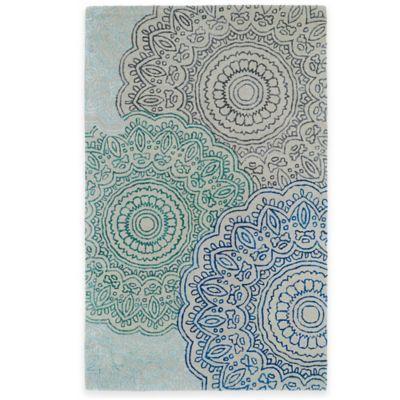 Kaleen Divine Medallion 8-Foot x 11-Foot Area Rug in Multicolor