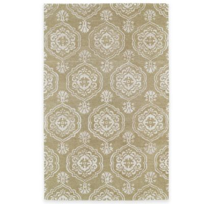 Kaleen Divine 3-Foot 6-Inch x 5-Foot 6-Inch Area Rug in Light Brown