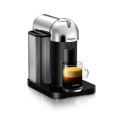 Nespresso® VerutoLine Coffee and Espresso Machine in Chrome