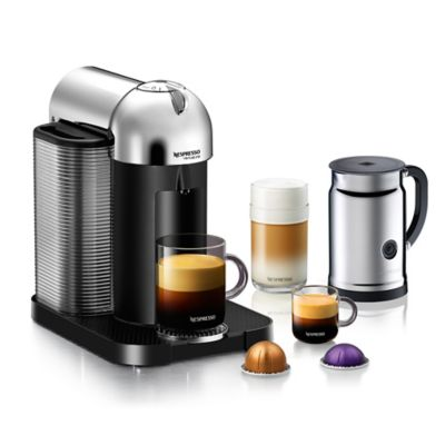 Nespresso® VertuoLine Coffee and Espresso Maker Bundle in Red